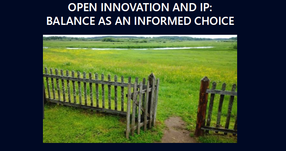 open innovation cover